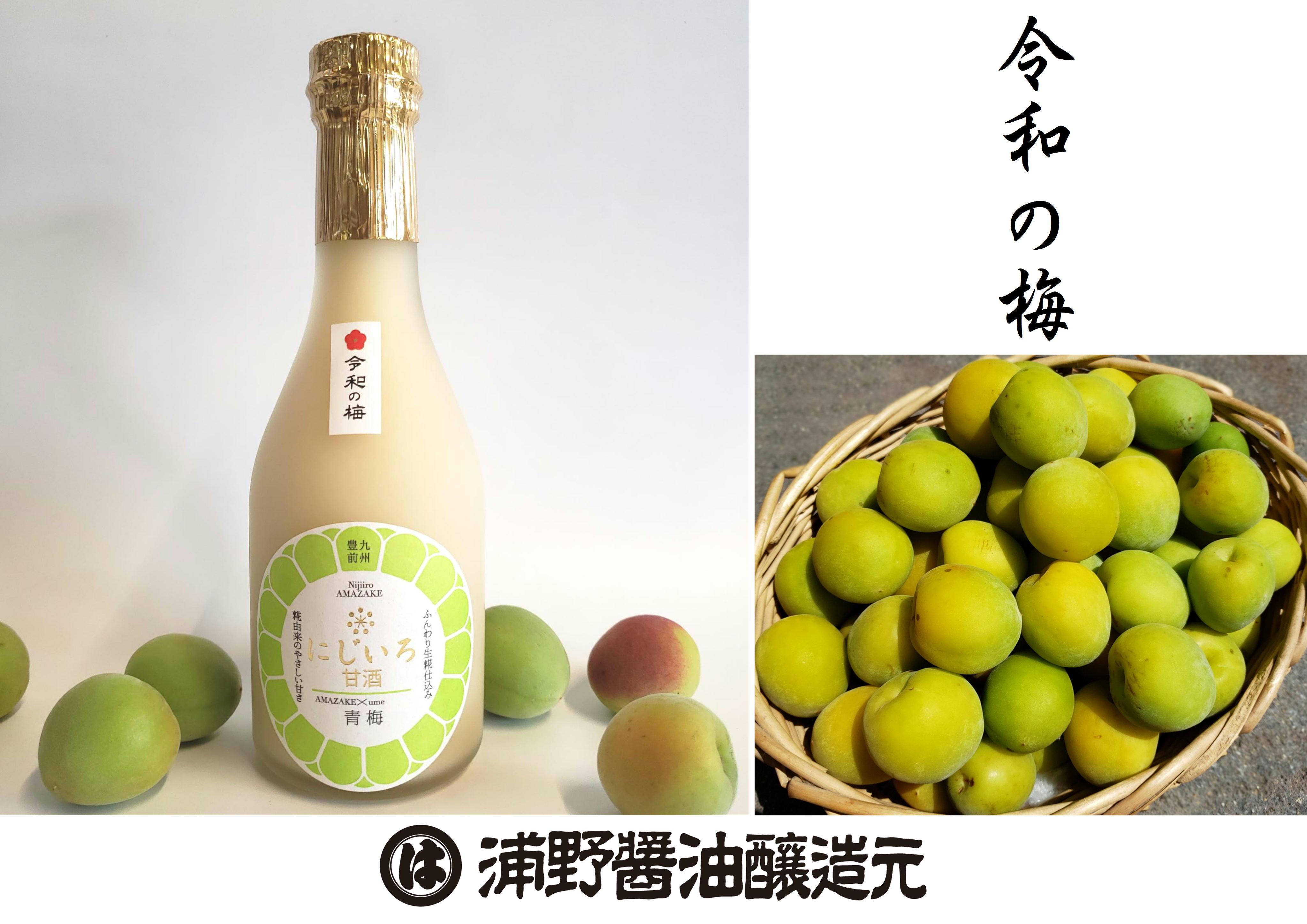 にじいろ甘酒 青梅~夏季限定~ (320g)
